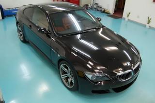 BMWM6ガラスコーティング画像