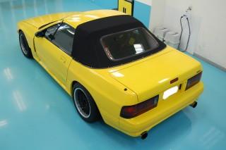 RX7 FCガラスコーティング画像
