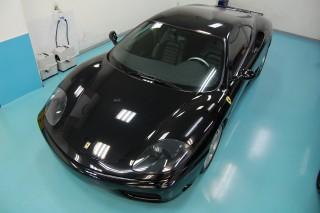 フェラーリ360ガラスコーティング