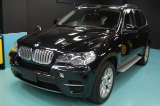 BMW X5ガラスコーティング画像