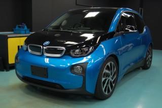 BMW i3ガラスコーティング画像