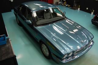 ジャガーXL308ガラスコーティング画像