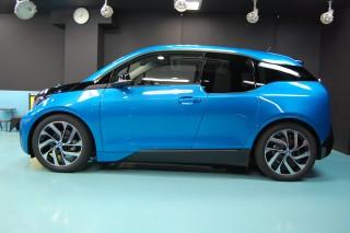 BMWi3ガラスコーティング画像