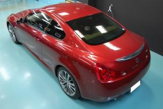 日産GT370ガラスコーティング画像