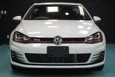 VWゴルフGTIガラスコーティング画像
