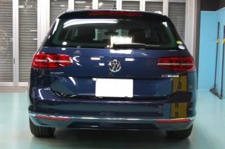 VWパサートバリアントガラスコーティング画像