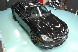 AMG63セダンガラスコーティング画像