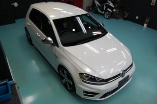 VWゴルフ7Rガラスコーティング画像