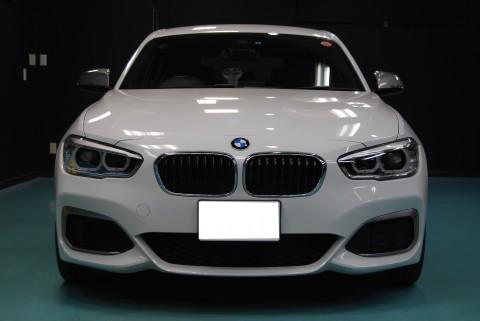 BMWM140ガラスコーティング画像