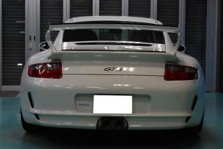 ポルシェ997 GT3ガラスコーティング