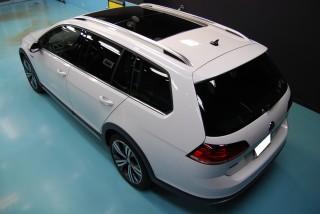 VWゴルフオールトラックガラスコーティング画像